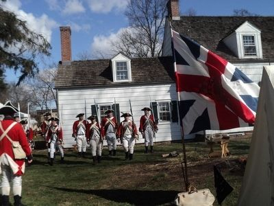 British Encampment at the Abraham Staats House image. Click for full size.