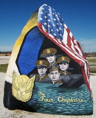 Adair County Freedom Rock Veterans Memorial image. Click for full size.