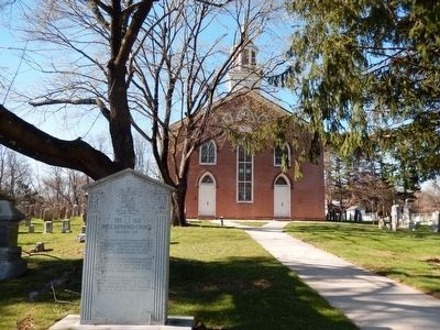 The Old Brick Reformed Church image. Click for full size.