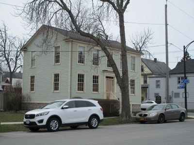 Jacob Smith House and Tavern & Marker image. Click for full size.