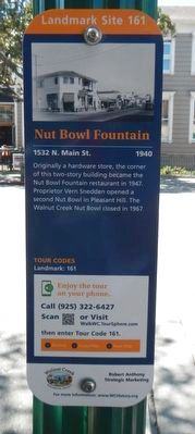 Nut Bowl Fountain Marker image. Click for full size.