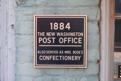 Post Office Marker image. Click for full size.