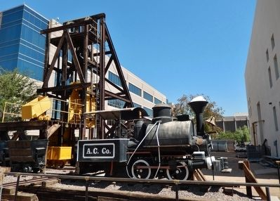 Arizona Copper Company's Locomotive #2 image. Click for full size.