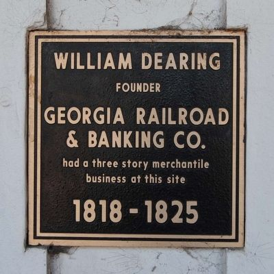 William Dearing Marker image. Click for full size.