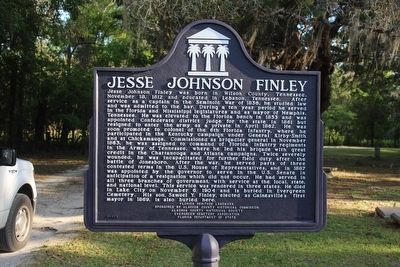 Jesse Johnson Finley Marker image. Click for full size.