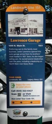 Lawrence Garage Marker image. Click for full size.