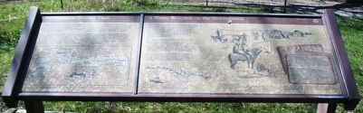 The Mormon Pioneer Trail / A Warm Welcome on the Nishnabotna Marker image. Click for full size.
