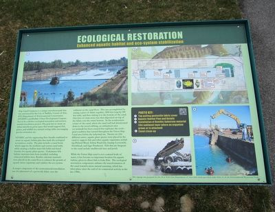 Ecological Restoration Marker image. Click for full size.