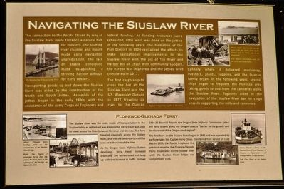 Navigating the Suislaw River Marker image. Click for full size.
