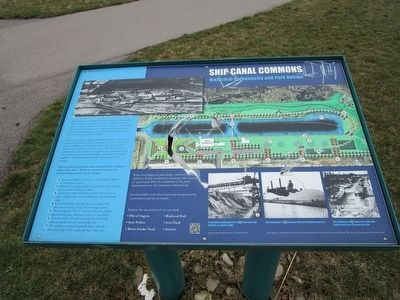 Ship Canal Commons Marker image. Click for full size.
