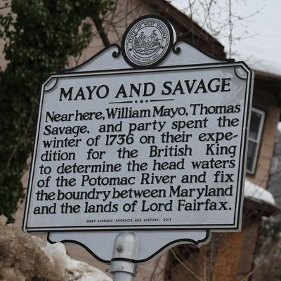 Mayo and Savage Marker image. Click for full size.