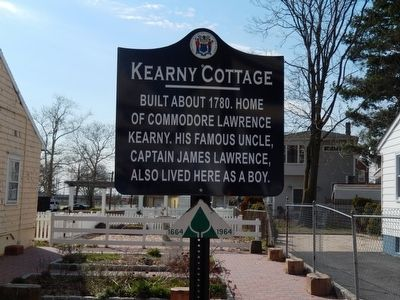 Kearny Cottage Marker image. Click for full size.