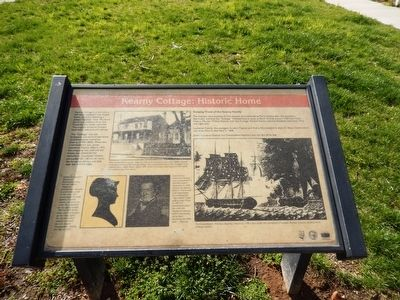 Kearny Cottage: Historic Home Marker image. Click for full size.