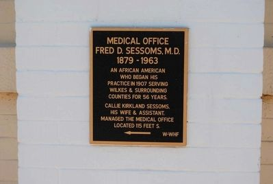 Medical Office Marker image. Click for full size.
