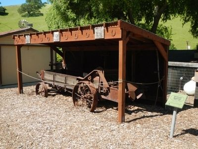 Broad Spreader of Seed Spreader Wagon and Marker image. Click for full size.