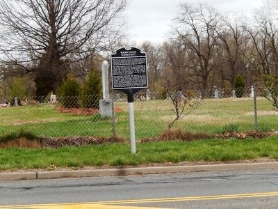 Samptown Cemetery Marker image. Click for full size.