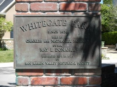 Whitegate Farm Marker image. Click for full size.