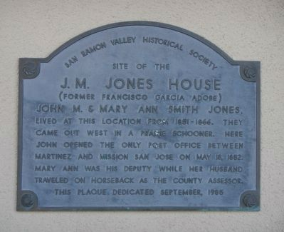 J.M. Jones House Marker image. Click for full size.