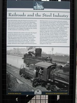Railroads and the Steel Industry Marker image. Click for full size.