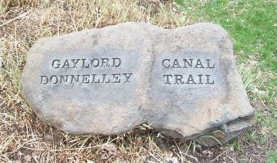 Gaylord Donnelly Canal Trail Marker image. Click for full size.