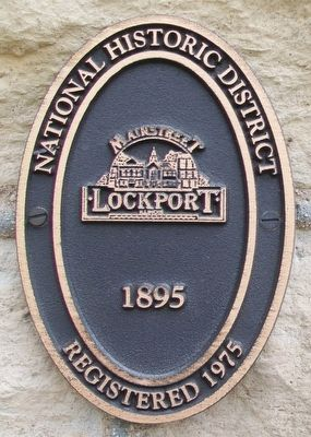 Lockport City Hall Marker image. Click for full size.