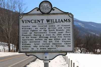 Vincent Williams Marker image. Click for full size.