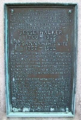 Jesse Walker Marker image. Click for full size.