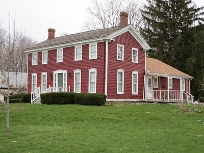 Col. Asa Warren House image. Click for full size.