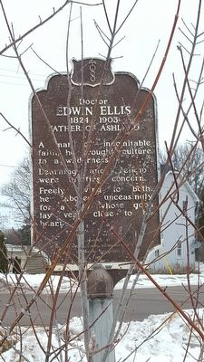 Doctor Edwin Ellis Marker image, Touch for more information