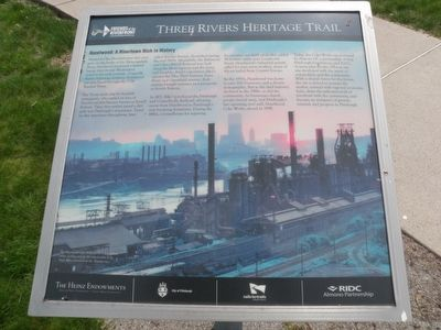 Hazelwood: A Rivertown Rich in History Marker image. Click for full size.
