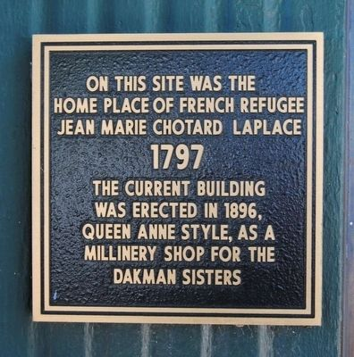 Jean Marie Chotard LaPlace Home Site Marker image. Click for full size.