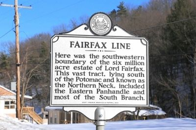 Fairfax Line Marker image. Click for full size.