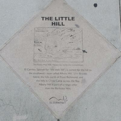 The Little Hill Marker image. Click for full size.