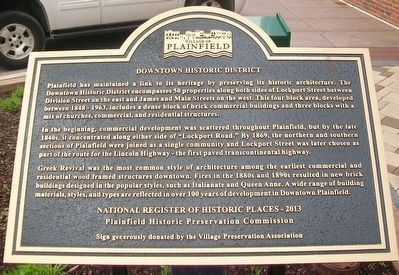 Downtown Historic District Marker image. Click for full size.