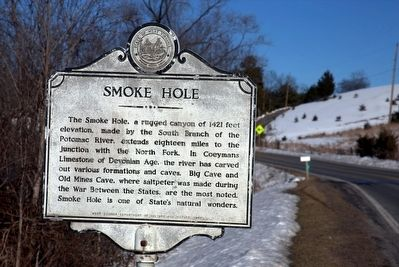 Smoke Hole Marker image. Click for full size.