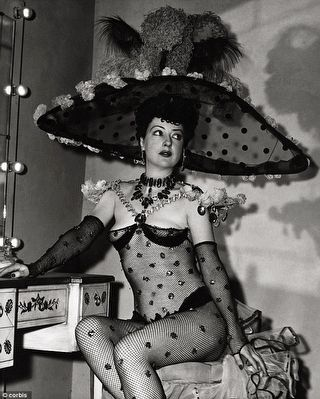 Gypsy Rose Lee image. Click for full size.