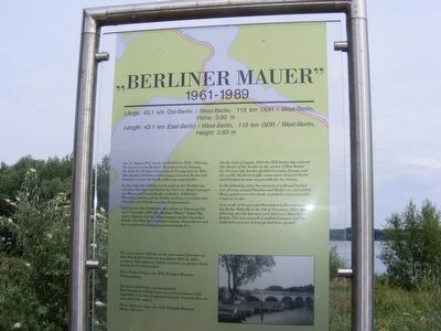 """Berliner Mauer"" Marker image. Click for full size."