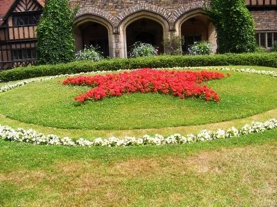 Cecilienhof Palace-The Red Star image. Click for full size.