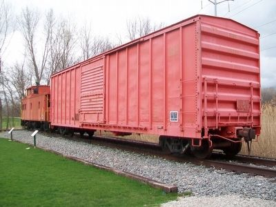 Boxcar and Boxcars Marker image. Click for full size.
