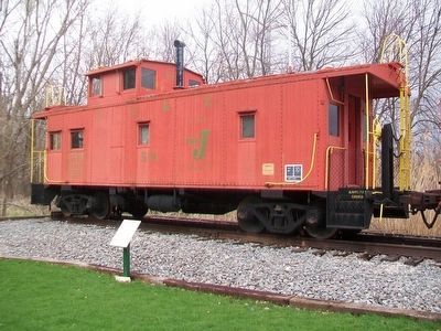 Caboose and Marker image. Click for full size.