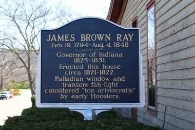 James Brown Ray Marker image. Click for full size.