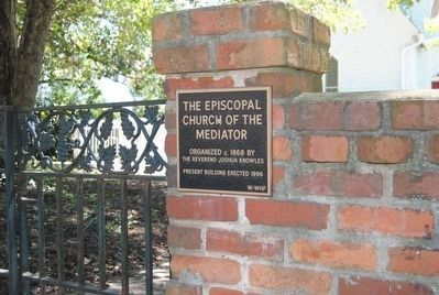 The Episcopal Church of the Mediator Marker image. Click for full size.