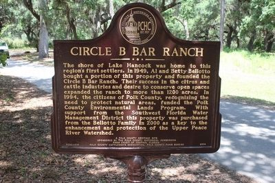Circle B Bar Ranch Marker image. Click for full size.