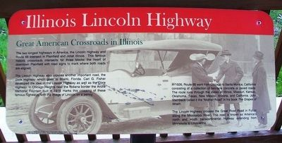 Great American Crossroads in Illinois Marker image. Click for full size.