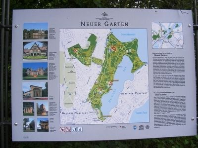 Neuer Garten (New Garden) Marker image. Click for full size.