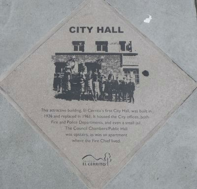 City Hal Marker image. Click for full size.