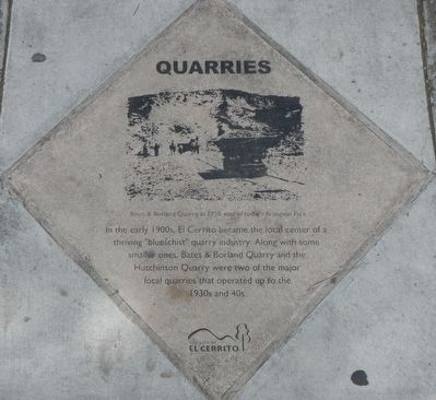Quarries Marker image. Click for full size.