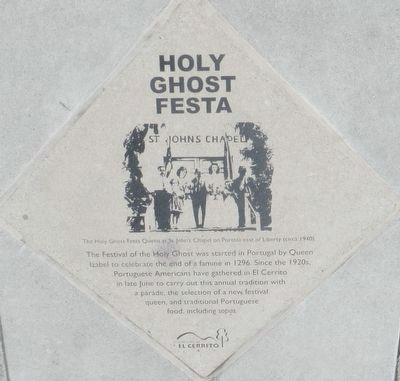 Holy Ghost Festa Marker image. Click for full size.