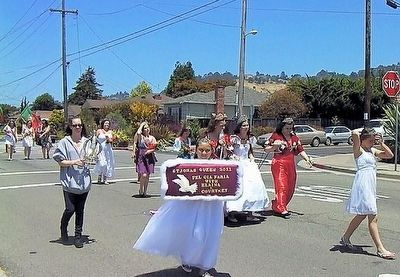 Holy Ghost Parade in El Cerrito image. Click for full size.