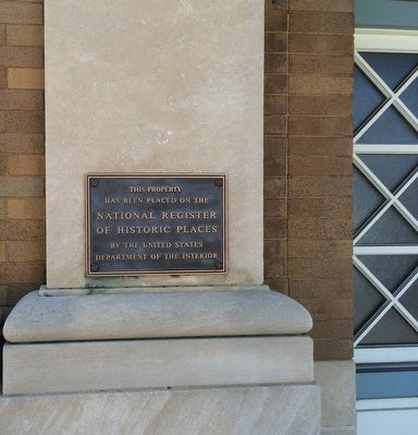 Bank of Andalusia National Historic Place Marker image. Click for full size.